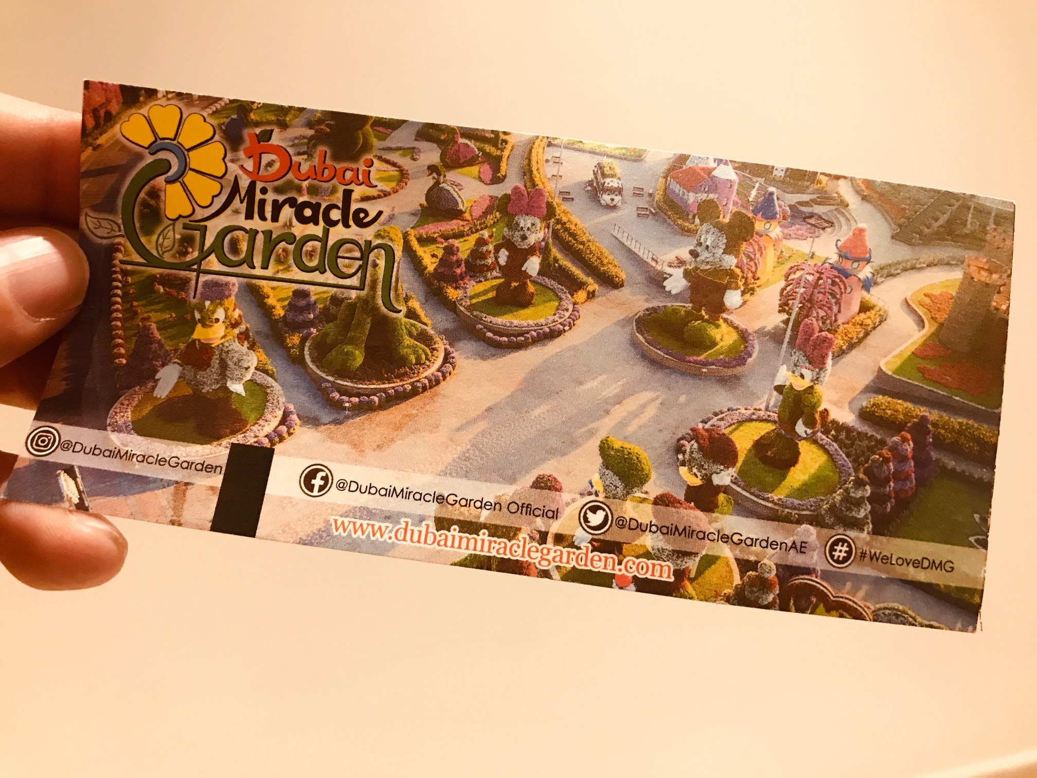 Ticket Dubai Miracle Garden